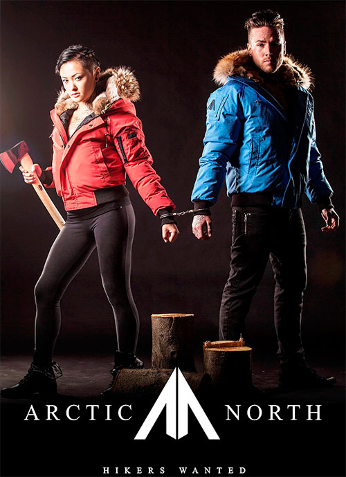 Пуховик Мужской Arctic North - Saint Sauveur - Cobalt