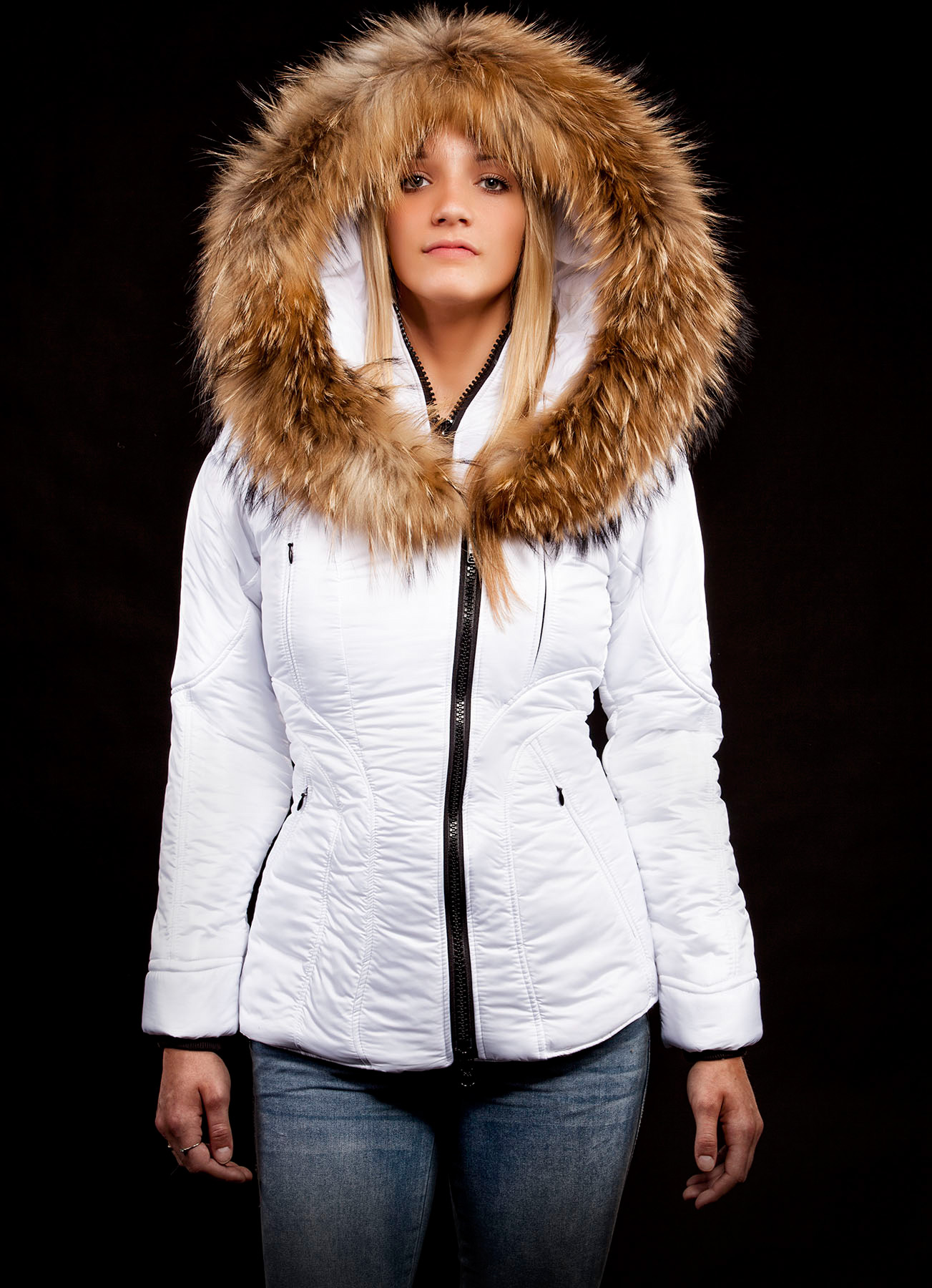 1fd95d664e5 Куртка Женская Arctic North - Sicilia-Shinny - White - AN490W-WHITE ...