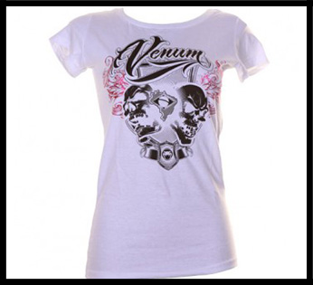 Venum - Футболка женская - Brazilian Fighter - Tee for Women - Ice