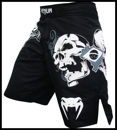 Venum - Шорты - Brazilian Fighters - Fightshorts - Black фото, цена, описание