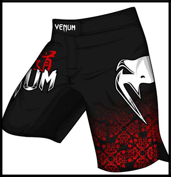 Venum - Шорты - Bushido - Fightshorts - Black