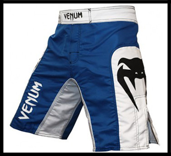 Venum - Шорты - Elite - Fightshorts - Blue Ice