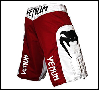 Venum - Шорты - Elite - UFC Edition - Fightshorts - White Red