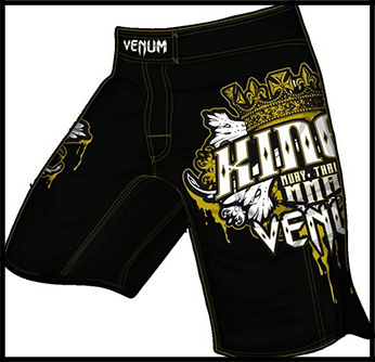 Venum - Шорты - Kings MMA - Fightshorts - Black