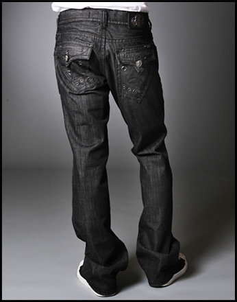 Laguna Beach - Джинсы Мужские - Mens Newport Beach BBB Straight Leg Denim Titanium Collection