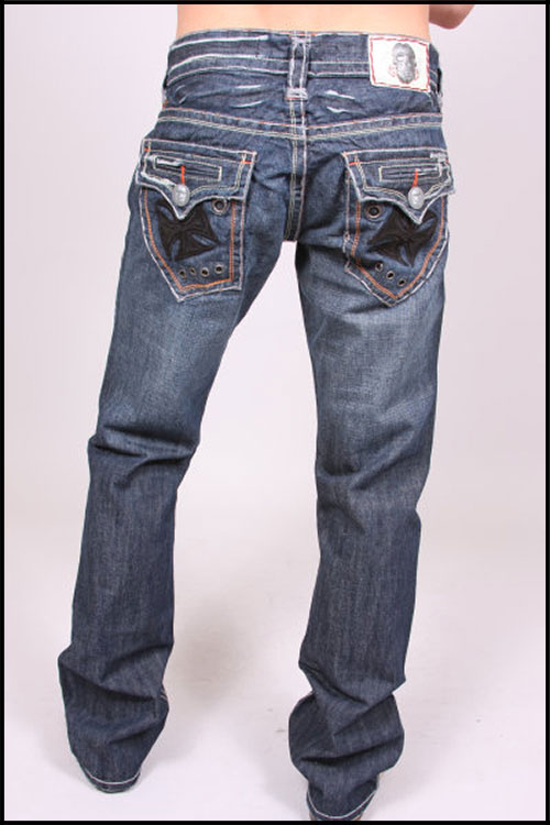 Laguna Beach - Джинсы Мужские - Mens Newport Beach Black Stitch Denim WBlack Pocket Design фото, цена, описание