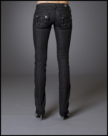 Laguna Beach - Джинсы Женские - Womens Capistrano Beach BBB Straight Leg Denim Titanium Collection