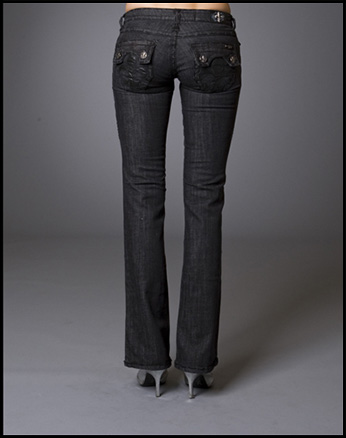 Laguna Beach - Джинсы Женские - Womens Hermosa Beach BBB Boot Cut Denim Titanium Collection