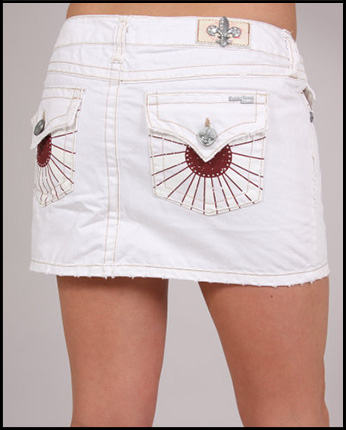 Laguna Beach - Юбка - Womens Corona Del Mar White Mini Skirt