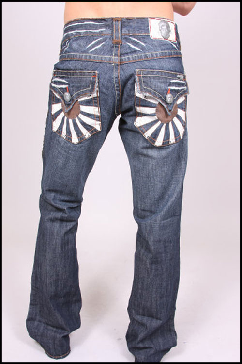 Laguna Beach - Джинсы Мужские - Mens Corona Del Mar Brown Stitch Denim фото, цена, описание