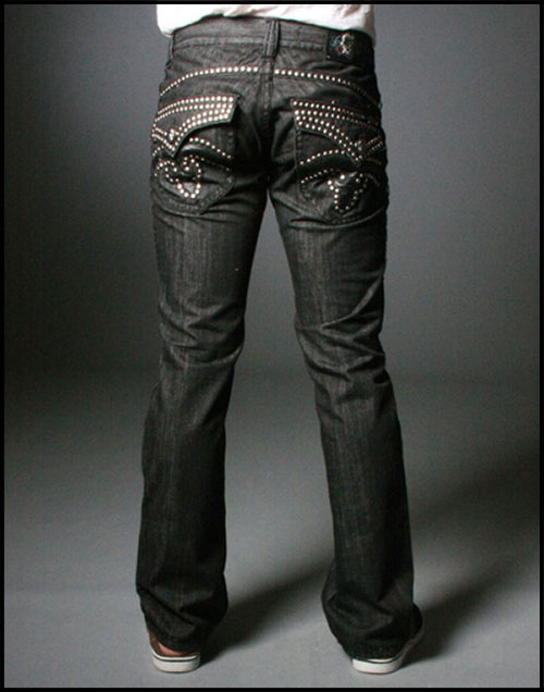 Laguna Beach - Джинсы Мужские - Mens Crystal Cove BBB Straight Leg - Stud Collection фото, цена, описание