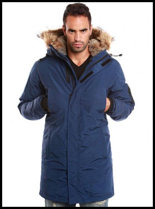 27747aa3d2d1e Arctic North - Куртка Мужская - Пуховик - Saint Sauveur - AN380M - Blue
