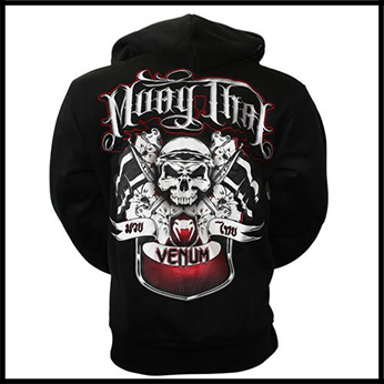 Venum - Толстовка - Muay Thai - Fighters - Hoody - Black