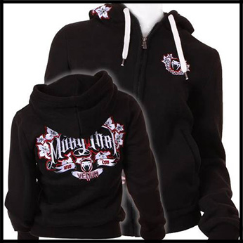 Venum - Толстовка женская - Muay Thai Fighters - Hoody for Women - Black