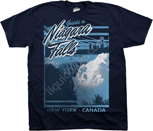 Футболка Liquid Blue - Been There - Athletic T-Shirt - Niagara Falls фото, цена, описание