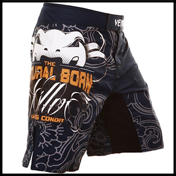 Venum - Шорты - Natural Born Killer - Fightshorts - by Carlos Condit - Blue
