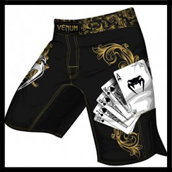 Venum - Шорты - Poker Fight - Fightshorts - Black