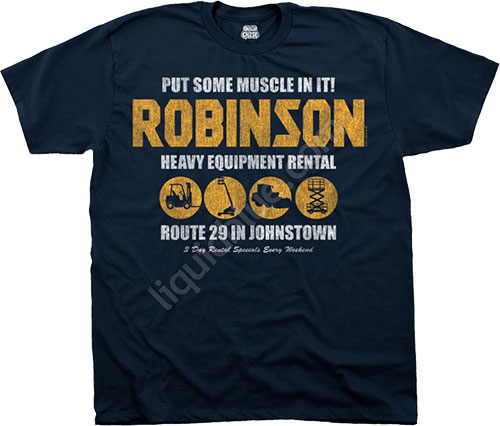 Футболка Liquid Blue - American Cheese - Athletic T-Shirt - Robinson Equipment фото, цена, описание