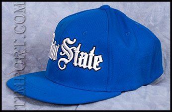 Raw State - Кепка - WHITE LOGO - ROYAL BLUE