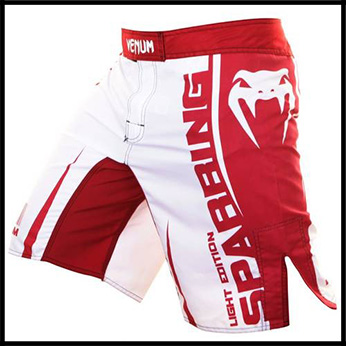 Venum - Шорты - Sparring Fightshorts - Red and White