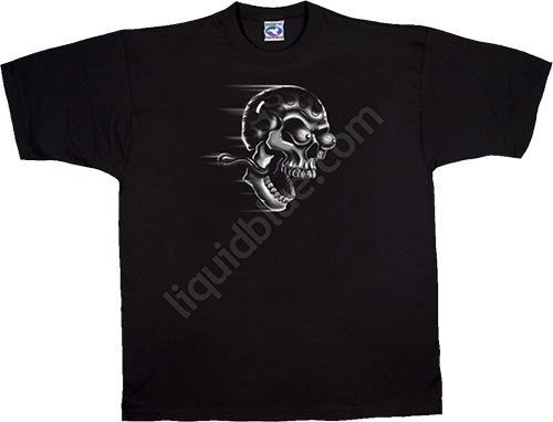 Футболка Liquid Blue - Biker Black T - Shirt - Shut Up And Ride фото, цена, описание