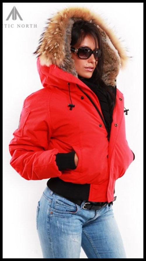 Пуховик Женский Arctic North - Red - Saint Sauveur - AN370W - AN370W ... 22655abbaf8f0