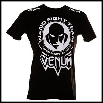 Venum - Футболка - Wand Fight Team - Tshirt - Black