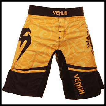 Venum - Шорты - Wanderlei Silva UFC 139 - Fightshorts - Black Yellow