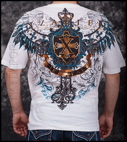 Футболка Xzavier - Shamans Wings - White фото, цена, описание