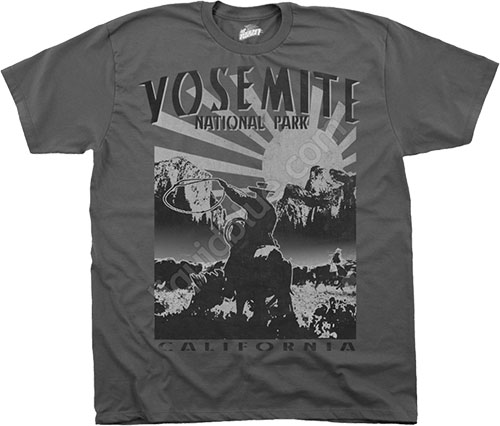 Футболка Liquid Blue - Been There - Athletic T-Shirt - Yosemite фото, цена, описание