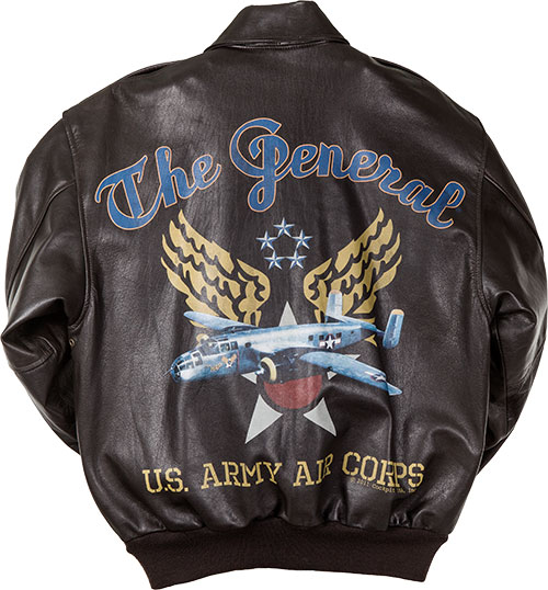 Сockpit USA - Куртка Мужская - The General Pin-up Jacket A-2 Goatskin  - Z21K006 - Brown фото, цена, описание