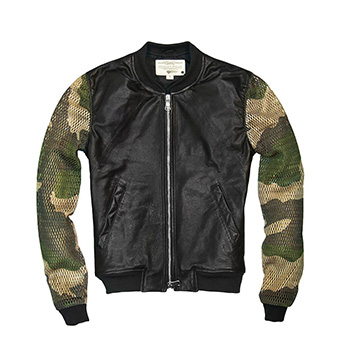 Hot Stuff Bomber Jacket - W71T009