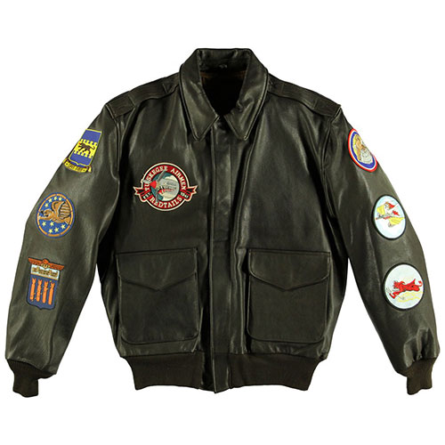 Сockpit USA - Куртка Мужская - Tuskegee Airmen A-2 Jacket - Z21J003 - Brown фото, цена, описание