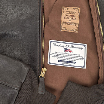Сockpit USA - Куртка Мужская - Reissue A-2 Jacket - Z2107G - Brown фото, цена, описание