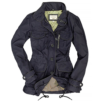 Piccadilly Lilly Field Jacket - W74T003 - Navy