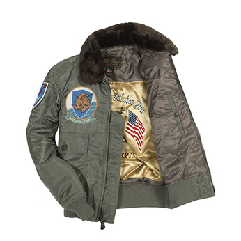 Сockpit USA - Куртка Мужская - G-1 US Fighter Weapons Jacket with Patches - Z24E004I - Sage