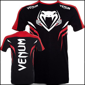 Venum - Футболка - SHOCKWAVE 2 - BLACK-RED