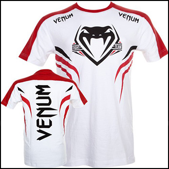 Venum - Футболка - SHOCKWAVE 2 - WHITE-RED