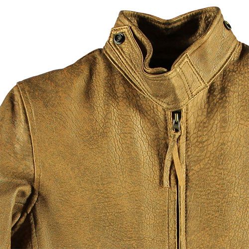 Сockpit USA - Куртка Женская - Motorcycle Cafe Racer Jacket - W71A002 - Bronze